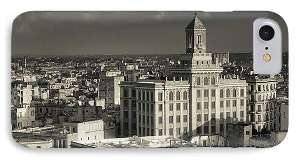 Cuba, Havana, Elevated View IPhone Case