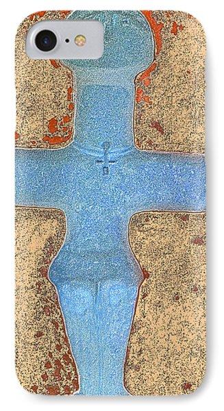 Cyprus Idol Of Pomos Phone Case by Augusta Stylianou
