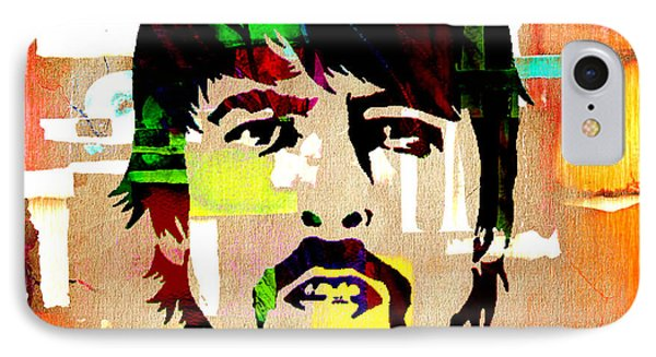 Dave Grohl Foo Fighters IPhone Case by Marvin Blaine