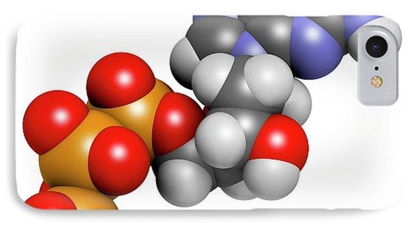 Deoxyguanosine Triphosphate Molecule IPhone Case by Molekuul