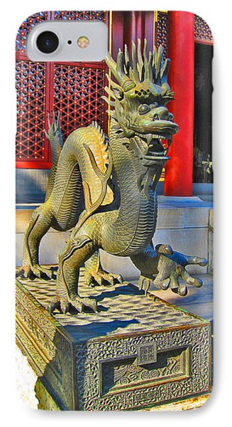 Dragon. Made In China. Beijing. Secret City. IPhone Case