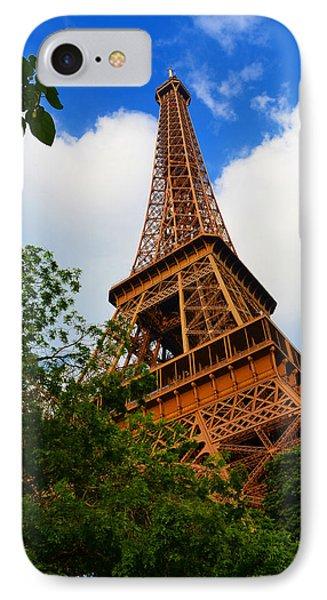 Eiffel Tower Paris France Phone Case by Patricia Awapara