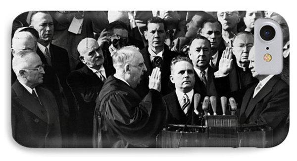Eisenhower Inauguration IPhone Case by Granger
