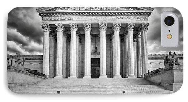 Equal Justice Under Law  IPhone Case by Susan Candelario