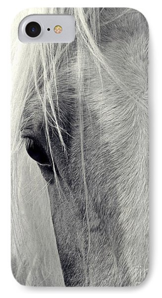 Equine Study IPhone Case by Laurinda Bowling