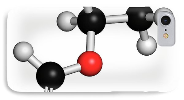 Ethylhexyl Triazone Sunscreen Molecule IPhone Case