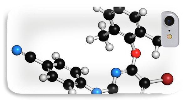 Etravirine Hiv Drug Molecule IPhone Case