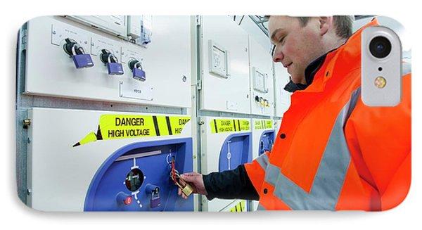 European Marine Energy Centre IPhone Case