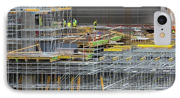 Expansion Work At Oslo Airport In Norway IPhone Case