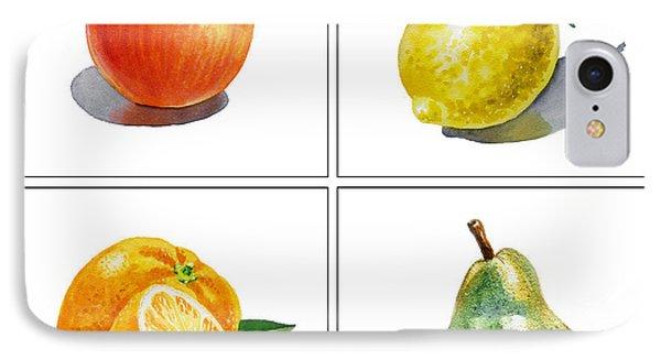 Lemon iPhone 7 Case - Farmers Market Delight  by Irina Sztukowski