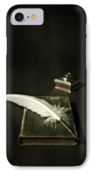 Feather Phone Case by Joana Kruse