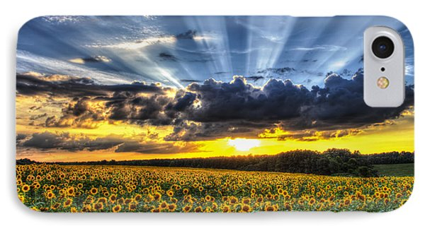 Field Of View IPhone Case by Chris Austin