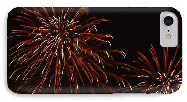 Fireworks At The Albuquerque Hot Air IPhone Case