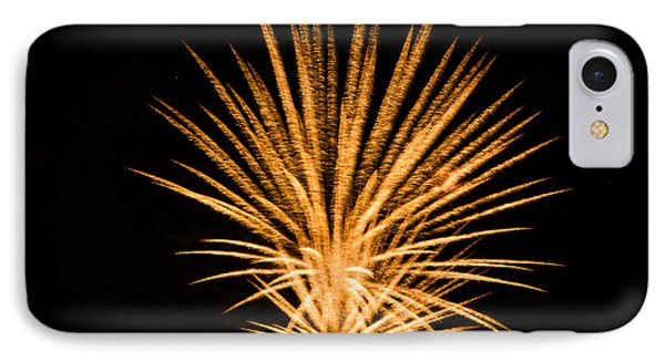 IPhone Case featuring the photograph Fireworks by Cathy Donohoue