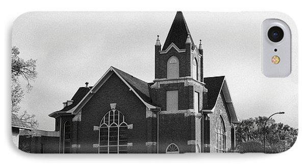 first united church swift current Saskatchewan Canada IPhone Case by Joe Fox