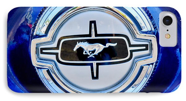 Ford Mustang Emblem Phone Case by Jill Reger