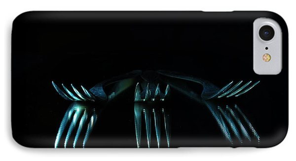 IPhone Case featuring the photograph 3 Forks by Randi Grace Nilsberg