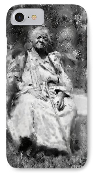 Former Slave Woman IPhone Case by Vannetta Ferguson