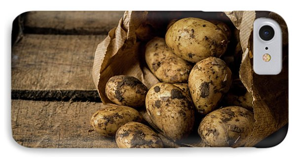 Fresh Potatoes IPhone 7 Case by Aberration Films Ltd