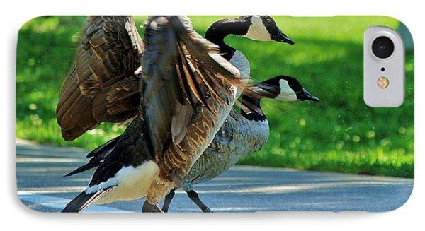 Geese Crossing IPhone Case