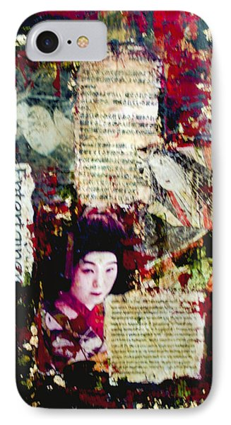 Geisha IPhone Case by Debra Crank