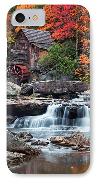 Glade Creek Grist Mill  IPhone Case by Emmanuel Panagiotakis