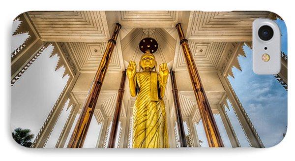 Golden Buddha IPhone Case by Adrian Evans