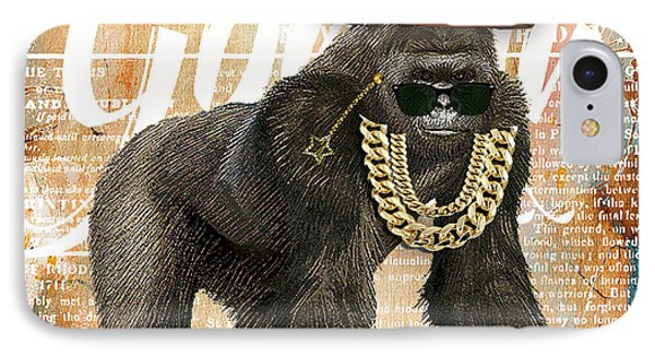 Gorilla Collection IPhone Case by Marvin Blaine