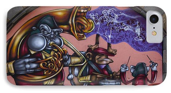 Graffiti House IPhone Case by Brian Roscorla