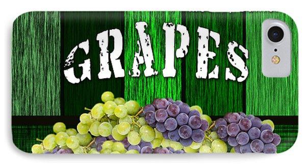 Grape Farm IPhone Case by Marvin Blaine