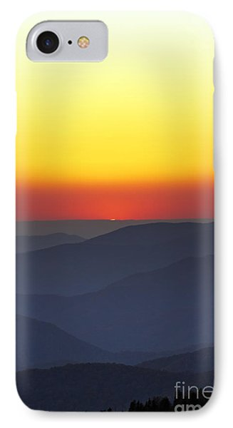 Great Smokie Mountains National Park Sunset IPhone Case by Dustin K Ryan