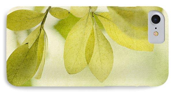 Green Foliage Series Phone Case by Priska Wettstein