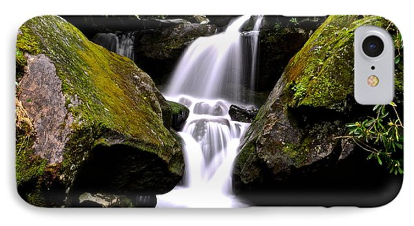 Grotto Falls Phone Case by Frozen in Time Fine Art Photography