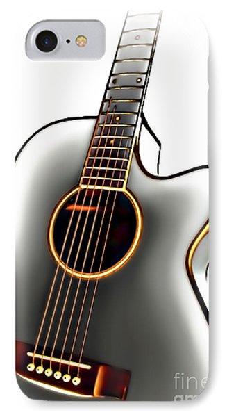 Guitar IPhone Case by Walt Foegelle
