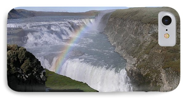 IPhone Case featuring the photograph Gullfoss by Christian Zesewitz
