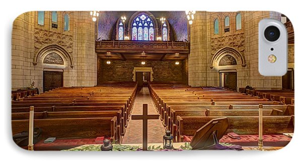 Hennepin Avenue Methodist Church Phone Case by Amanda Stadther