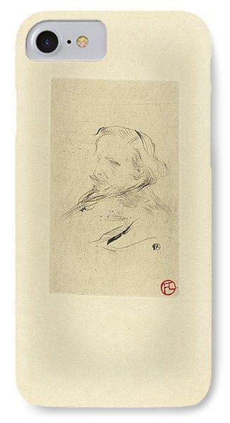 Henri De Toulouse-lautrec French, 1864 - 1901 IPhone Case