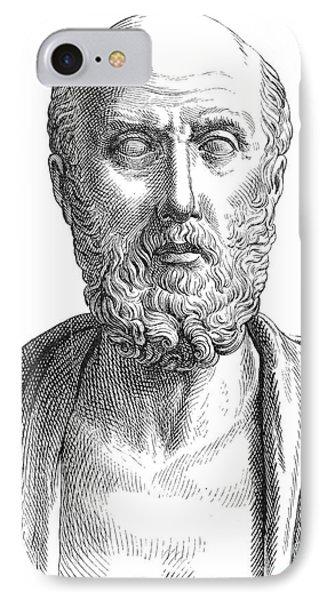 Hippocrates (c460-c377 B.c.) Phone Case by Granger