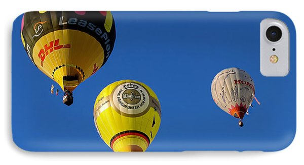 IPhone Case featuring the photograph 3 Hot Air Balloon by John Swartz