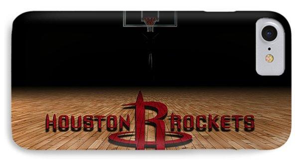Houston Rockets IPhone Case by Joe Hamilton