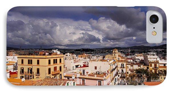 Ibiza Town IPhone Case by Karol Kozlowski