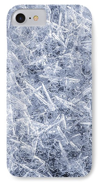 Ice On Minnehaha Creek  IPhone Case by Jim Hughes