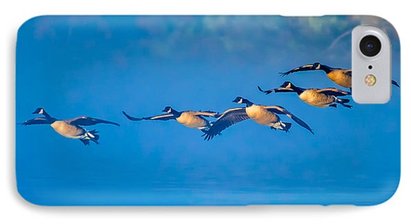 Incoming Geese IPhone Case by Brian Stevens