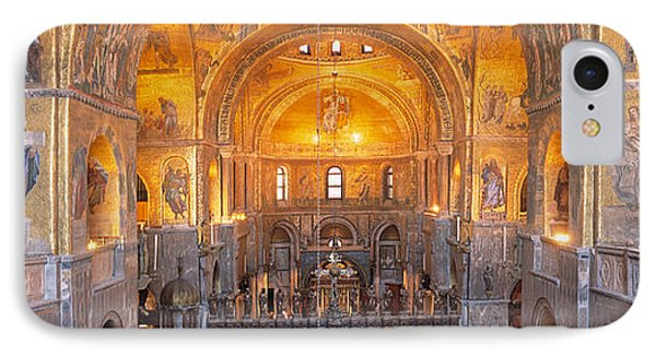Italy, Venice, San Marcos Cathedral IPhone Case by Panoramic Images