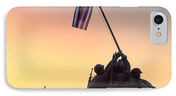 Iwo Jima IPhone Case by Inge Johnsson