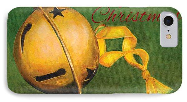 Jingle Bells IPhone Case by Iris Richardson
