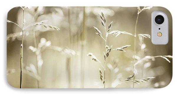 June Grass Flowering IPhone Case