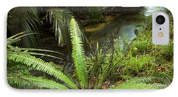 Jungle Stream Phone Case by Les Cunliffe