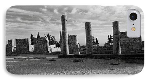 Kourion-temple Of Apollo Phone Case by Augusta Stylianou