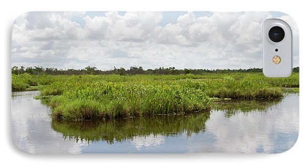 La, Lafitte, Airboat Swamp Tour IPhone Case by Jamie and Judy Wild